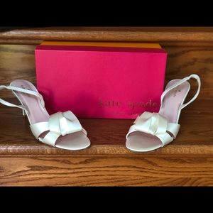 Kate Spade Wedding Shoes NEW size 10.5